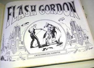 Flash gordon - eta d'oro del fumeto - alex raym