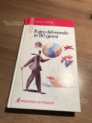 """Libro J. Verne """"IL GIRO DEL MONDO IN 80 GIORNI"""""""