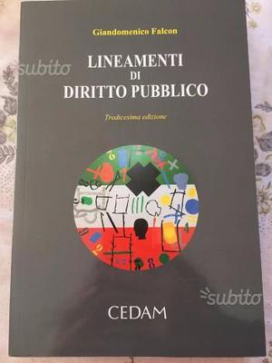 """Libro """"Lineamenti di diritto pubblico"""""""