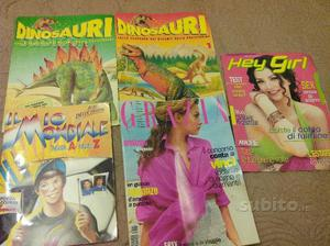 Lotto rivista dinosauri grazia hey girl