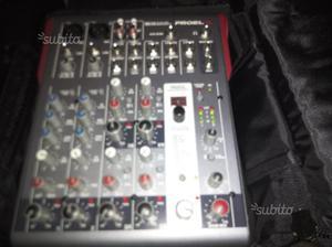 Mixer proel 10 canali con effetti digitali