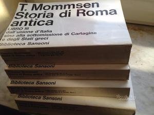 Mommsen storia di roma antica