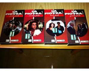 Serie completa VHS LA PIOVRA 3