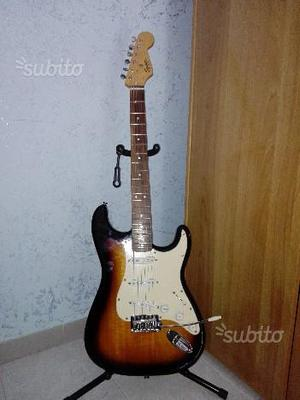 Squier by fender bullet stratocaster, brown