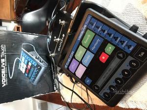 TC Helicon voice live 1 touch + pedaliera