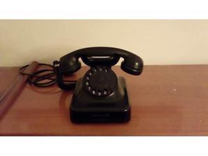 Telefono bachelite nero