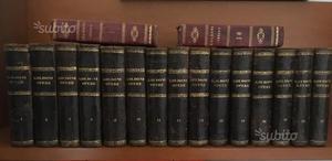 17 libri di Goldoni del
