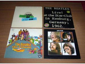 Beatles - lotto 4 lp 33 giri originali