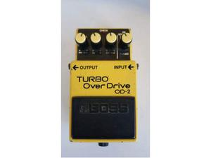 Boss Od2 Turbo Overdrive made in Japan Vintage anni 90