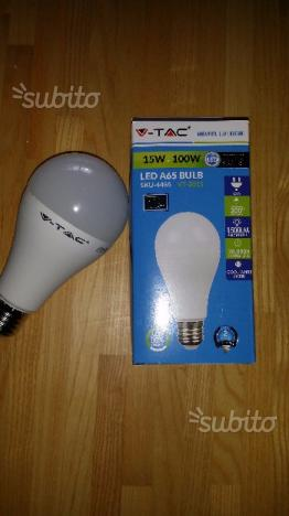 Lampadina led V-Tac 15W-100W bulb bianco freddo