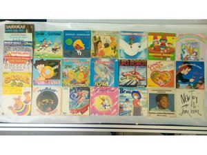 Lotto Sigle Tv Cartoni Animati 45 giri vinili originali