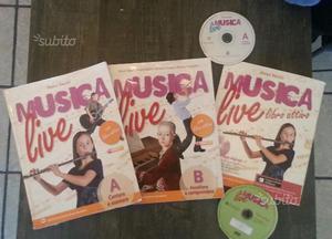 MUSICA LIVE A e B + libro attivo