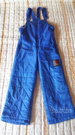 Pantalone sci bambino 4 - 6 anni