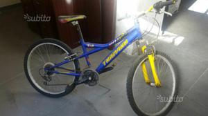Bicicletta Mountain bike 24""