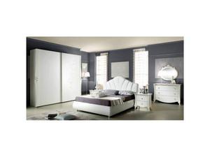 Camera Da Letto Stile Contemporaneo Bianco Armadio