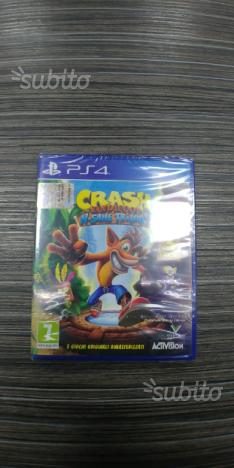 Crash bandicot ps4 Nuovo
