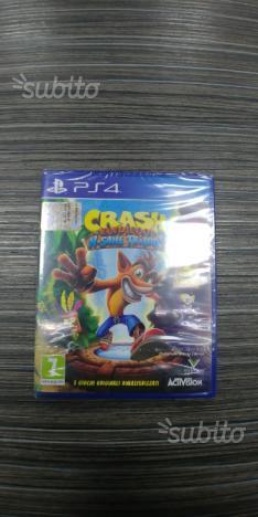 Crash bandicot ps4 Nuovo