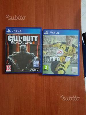 Fifa 17 e Call Of Duty Black Ops 3