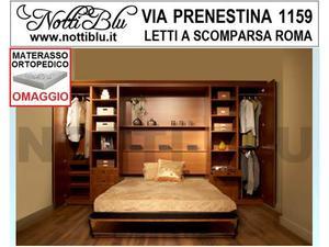 Letti a Scomparsa _ Letto Matrimoniale SE491 Materasso