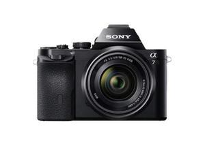 Sony alpha ILCE7KB, full frame, 24.3 MP, Obiettivo