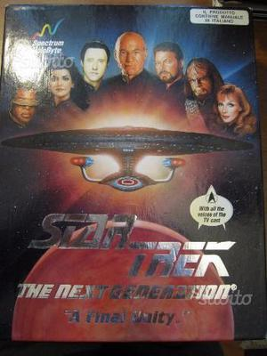 Star Trek TNG 'A Final Unity' - PC DC