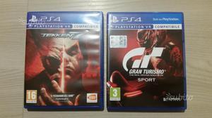 Tekken 7 & gran turismo sport