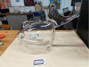 Vaso vetro forma pesce