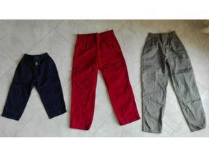 3 pantaloni lunghi da bambino VINTAGE anni 90