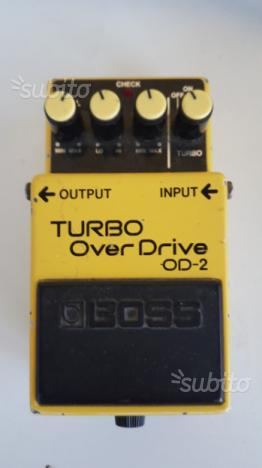 Boss Od2 turbo overdrive made in Japan