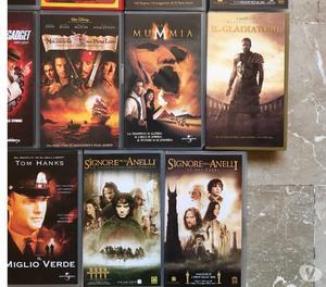 Film videocassetta vari