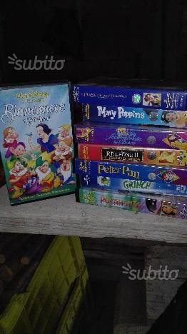 I grandi classici Disney vhs