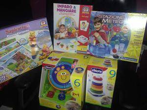 Lotto intero di giochi per bambini