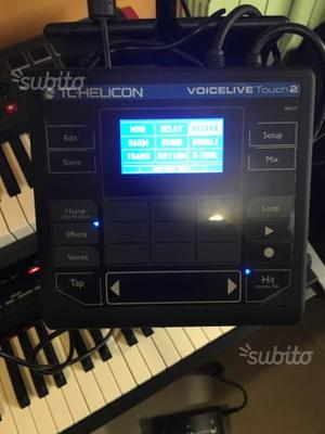Multieffetto Tc Helicon Voice live touch 2