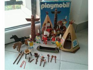 Playmobil indiani vintage n. ) con scatola