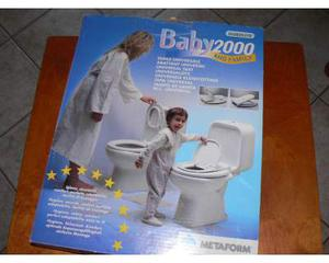 Sedile wc baby con riduttore bianco completo