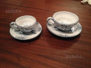 Servizio da caffè e te in ceramica di Albisola