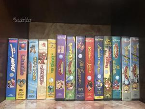 Videocassette Cartoni Disney e altro