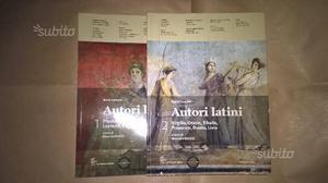 Autori Latini Vol 1, Vol 2 - ed La Nuova Italia