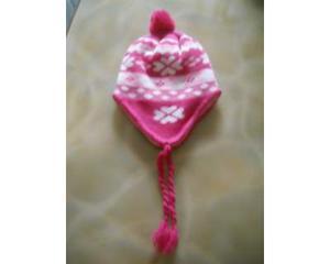 Cappello NUOVO paraorecchie per bambina