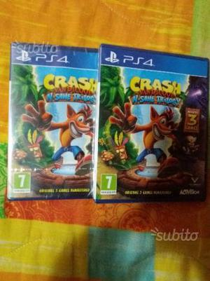 Crash nsane trilogy nuovo sigillato ps4 cons. Disp