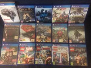 Diversi giochi PS4