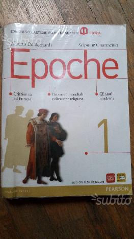 EPOCHE vol.1 libro di storia per liceo