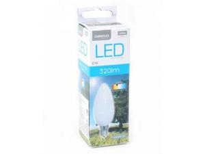 Lampadina LED Candela Omega E14 4W 320 lm  K Luce Calda