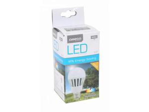 Lampadina LED Sferica Omega E27 7W 520 lm  K Luce