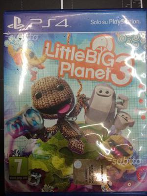 Little big planet 3 per ps4