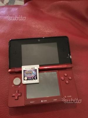 Nintendo 3ds con pokemon luna