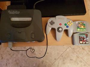 Nintendo 64 con Mario64 e StarFox64