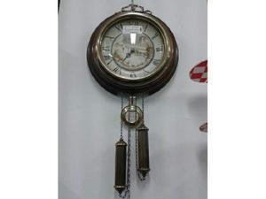 Orologio muro a pendolo in legno