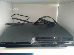 PS3 slim + giochi + joypad