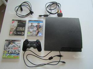 Play Station PS3 Slim 320 Gb + giochi